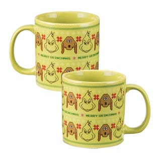 """Dr. Seuss⢠""""The Grinch"""" Ugly Sweater 20 oz. Ceramic Mug