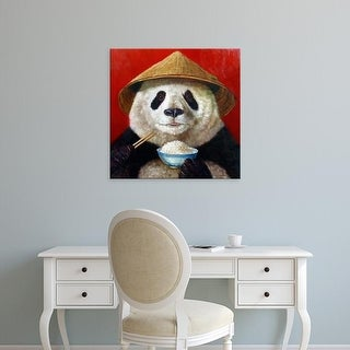 Easy Art Prints Lucia Heffernan's 'Panda' Premium Canvas Art