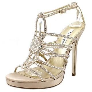 Nina Taryn Women  Open Toe Synthetic Gold Sandals