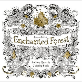 Chronicle Books-Enchanted Forest Coloring Book