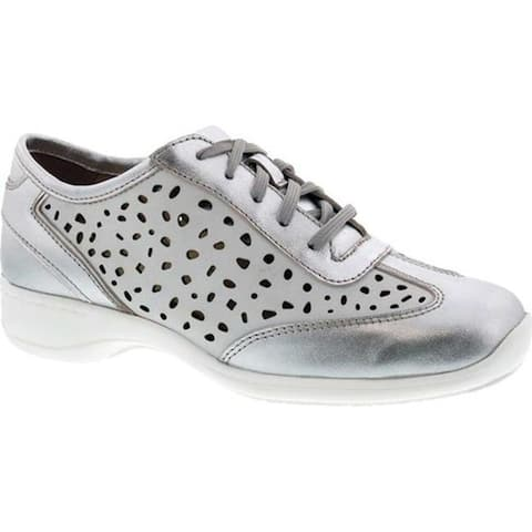 Ros Hommerson Women's Sealed Oxford White/Silver Leather