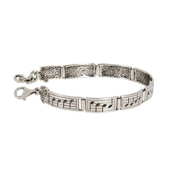 Women's Ode To Joy Bracelet - Sterling Silver Jewelry