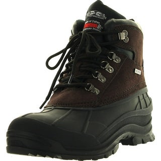 Mens Winter Boots Hiking Snow Ski Leather 6 Ankle Thermolite Insulated Waterproof Cold Weather Shoes""
