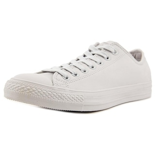 Converse All Star Mono Round Toe Canvas Sneakers