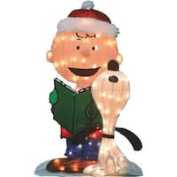 "Product Works/ Domes 32"" P/L Caroling Peanuts 20209 Unit: EACH"