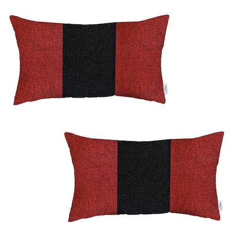 Boho-Chic Decorative Houndstooth Jacquard Pillow Covers 2 PCS