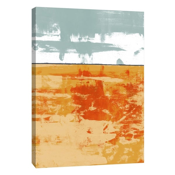 "PTM Images 9-105301 PTM Canvas Collection 10"" x 8"" - ""Squeegeescape 24"" Giclee Abstract Art Print on Canvas"