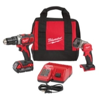 Milwaukee 2606-21L M18 0.5 in. Drill & LED Light Special Kit