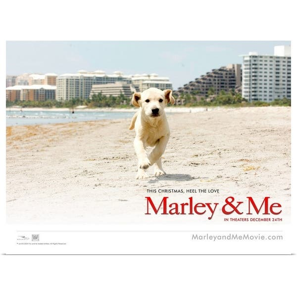 Shop Black Friday Deals On Marley And Me 2008 Poster Print Overstock 24134480