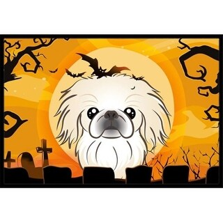 Carolines Treasures BB1779JMAT Halloween Pekingese Indoor & Outdoor Mat 24 x 36 in.