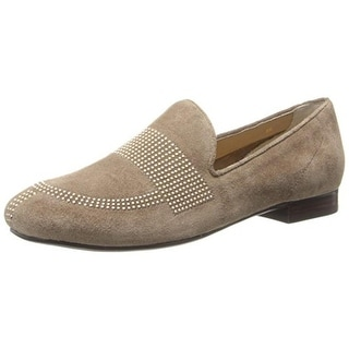 VANELi Womens Fawne Suede Slip On Loafers