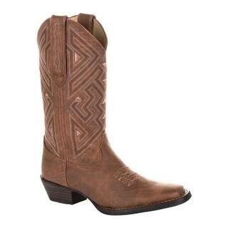 Durango Boot Women's DRD0328 Maverick XP Ventilated Western Work Boot Distressed Sepia Textile