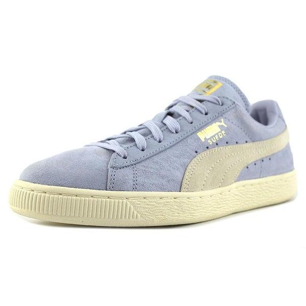 Puma Suede Classic Shine Women Suede Blue Fashion Sneakers
