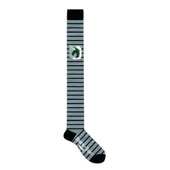 Attack on Titan Over The Knee Socks Style C 1 Pair - Black