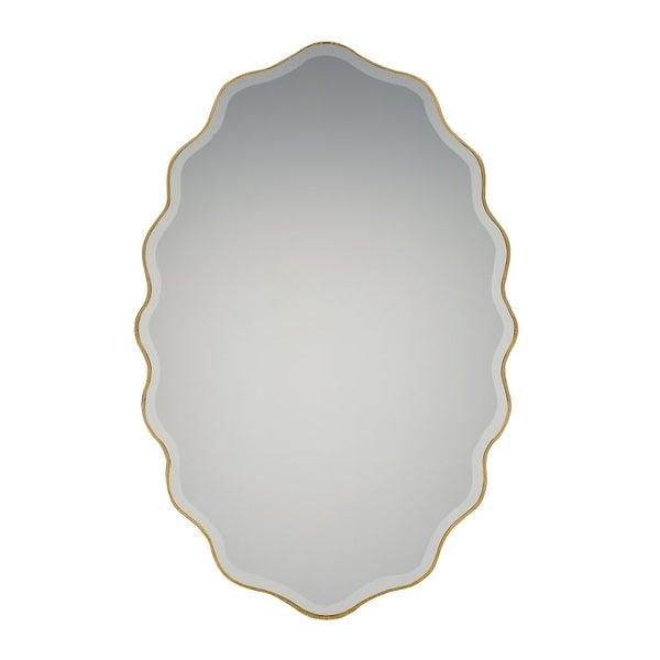 Shop Quoizel Qr2796 Artiste 30 Inch X 20 Inch Oval Shape Beveled
