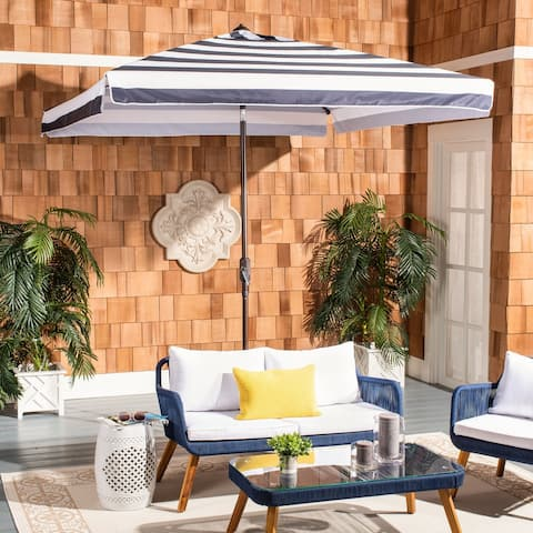 Safavieh Outdoor Living Elsa Fashion Line 7.5 Ft Square Umbrella
