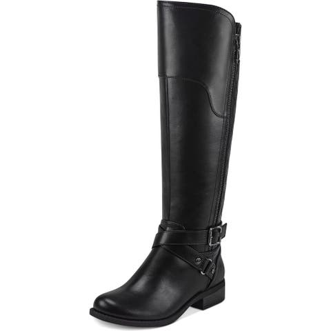 G by Guess Womens Haydin Riding Boots Faux Leather Tall