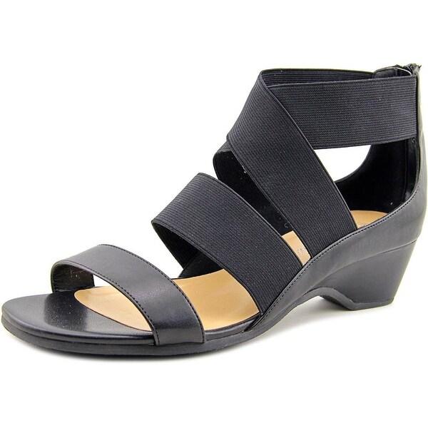 Bella Vita Paloma II  N/S Open Toe Canvas  Wedge Sandal