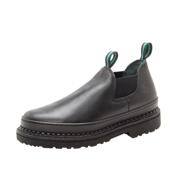 Georgia Boot Work Womens Giant Romeo Leather Goodyear Black