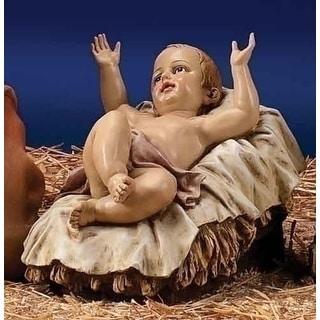 "39"" Scale Joseph's Studio Baby Jesus Christmas Nativity Outdoor Statue in Color"