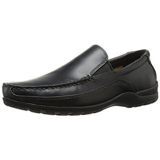 Giorgio Brutini Mens Grisham Leather Moc-Toe Loafers - 7.5 medium (d)