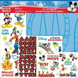 "Mickey Mouse - Disney Page Kit 12""X12"""
