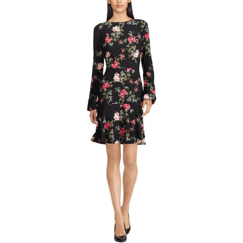 American Living Womens Wear to Work Dress Floral Office