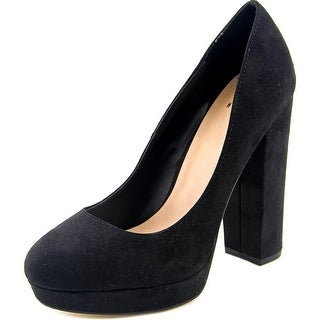 Mix No 6 Adoviel Women  Open Toe Synthetic Black Platform Heel