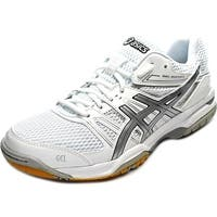 Asics Gel-Rocket 7 Women  Round Toe Synthetic White Tennis Shoe