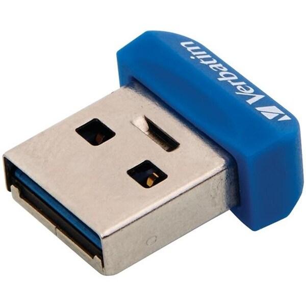 Verbatim 98710 Store n Stay USB 3.0 Nano Drive, 32 GB