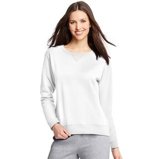 Hanes ComfortSoft EcoSmart Women's Crewneck Sweatshirt - L