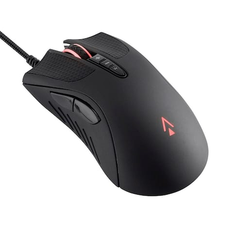 Monoprice Aether Optical Gaming Mouse - 16000DPI, Light Strike Switches, Wired