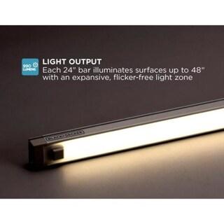 "BLACK+DECKER LED Under Cabinet Lighting Kit, 18/24"", Cool White (2 options available)"