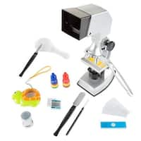 Microscope for Kids Educational Science Set 4-Way Magnification