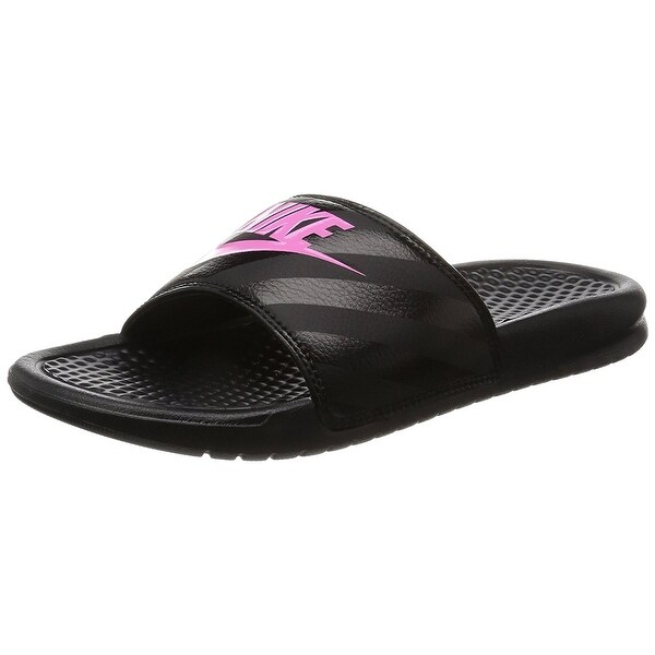 Popular Nike Benassi JDI Womens Sandals Black