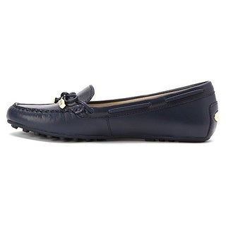 MICHAEL Michael Kors Women's Daisy Moccasin Leather Flats