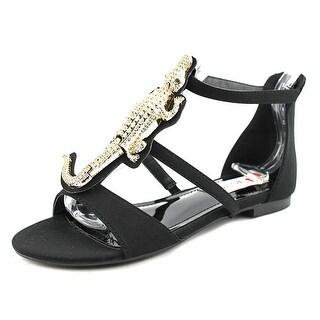 Two Lips Allie Women Open Toe Synthetic Black Gladiator Sandal