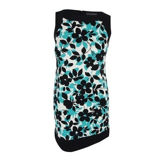 Jessica Howard Women's Floral-Print Sheath Dress - 12