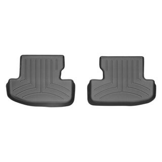 WeatherTech 446992 Black Rear FloorLiner: Ford Mustang 2015 +,