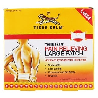 Tiger BAlmond Patch-Large 4-count