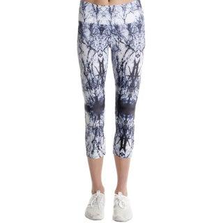 Onzie Womens Sophy Athletic Leggings Printed Capri