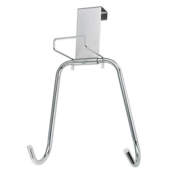 Polder 90617 05 Over The Door Ironing Board Holder, Chrome