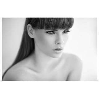 """Portrait of beautiful woman"" Poster Print"