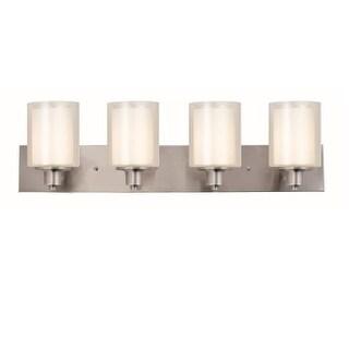 """Design House 579318 Penn 4 Light 31-7/8"""" Wide Bathroom Vanity Light"""