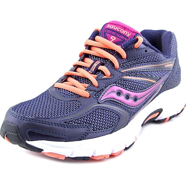 Saucony Grid Cohesion 9 Women  Round Toe Synthetic Blue Running Shoe