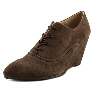 Pretty Nana Rebecca   Round Toe Suede  Oxford