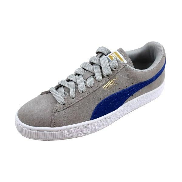 Shop Puma Women s Suede Classic Gray Violet True Blue nan 355462 46 ... 48c279d60