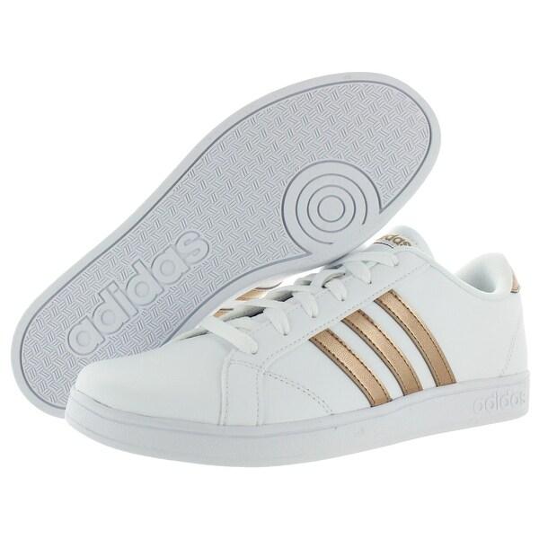 Shop Adidas Girls Baseline K Sneakers