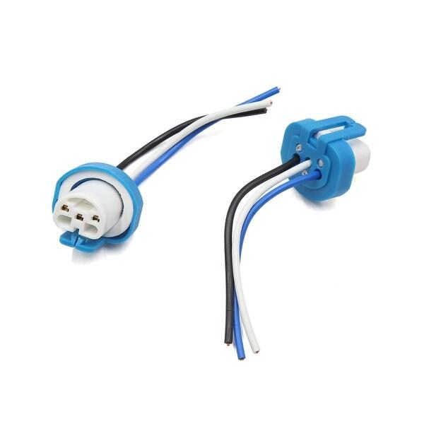 shop 2pcs 3 wires 9004 ceramic socket auto car headlight. Black Bedroom Furniture Sets. Home Design Ideas