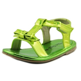 The Doll Maker MF1421015 Toddler Open-Toe Synthetic Slingback Sandal